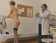 Gynaecological examination caught with hd spy camera