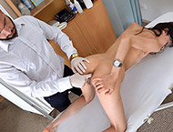 Ashley, 25 years. Exam with blood pressure, anal dilation and exam, bimanual, depth, two speculums and vibrator orgasm stethoscope.