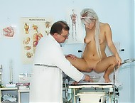 Sabina pussy speculum examination at gyn clinic by nasty woman doctor