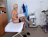 Naomi, 21 years girl gyno exam. Checkup with heartbeat, physical exam vaginal and anal inspection, perineum checkup, vaginal depth, two speculums and vibrator orgasm heartbeat.