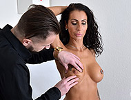 42 YEARS. MILF gyno exam with heartbeat exam, abdominal palpation measurements, douche, anal & vaginal exam, two speculums, vibrator orgasm heartbeat, anal ointment and much more!